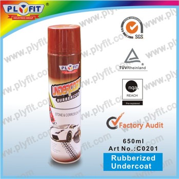 Liquid Car Rubber Undercoating Spray