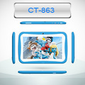 cute 7inch Rockchip1.2 Ghz android kids tablet with parental control