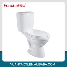 Volume produce best brand two piece toilet bowl