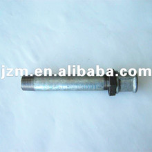 galvanized steel pipe fitting welding long Nipple socket Backnut tube joint
