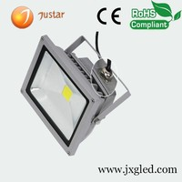 100w rechargeable waterproof led flood light for outdoor
