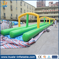 100m long super inflatable water slide the city