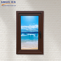 China supplier upvc profile glass casement window