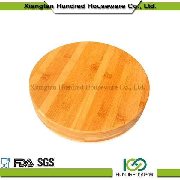 wholesales decorative mini round cutting boards wood