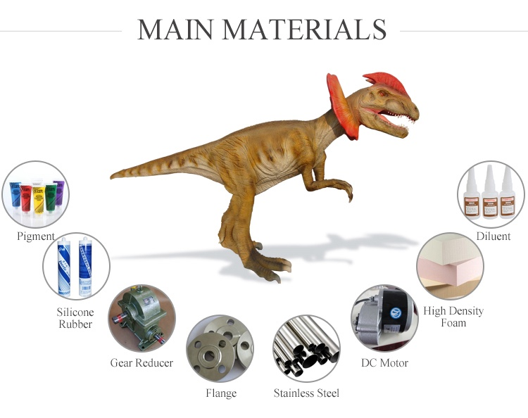 OA8079 Prehistory Dinosaurs forJurassic made by China factory