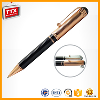 Cheap Promotional gun metal ball pen