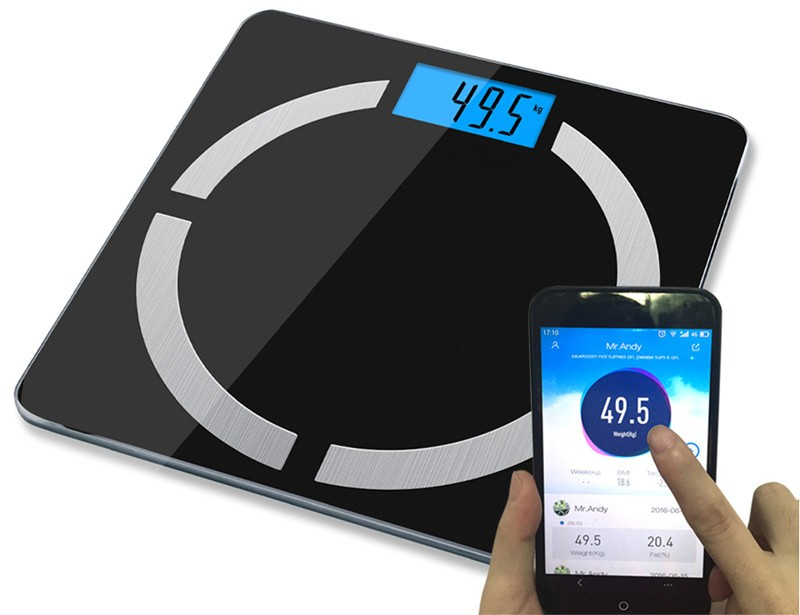 digital weight scale bluetooth digital weighing scale wifi scale fat bluetooth