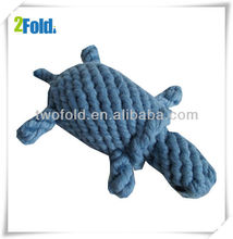 Turtles Shape Cotten Rope Knot Toy Shop