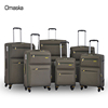 Wholesale China 100% Polyester Fabric Lining Ultra Light-Weight Alibaba China 4 Wheels Trolley Luggage Bags