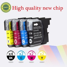Compatible Ink cartridge for Brother LC39 LC985 DCP-J125/DCP-J315W/J515W,MFCJ220/MFC-J265W/MFC-J410/MFC-J415W