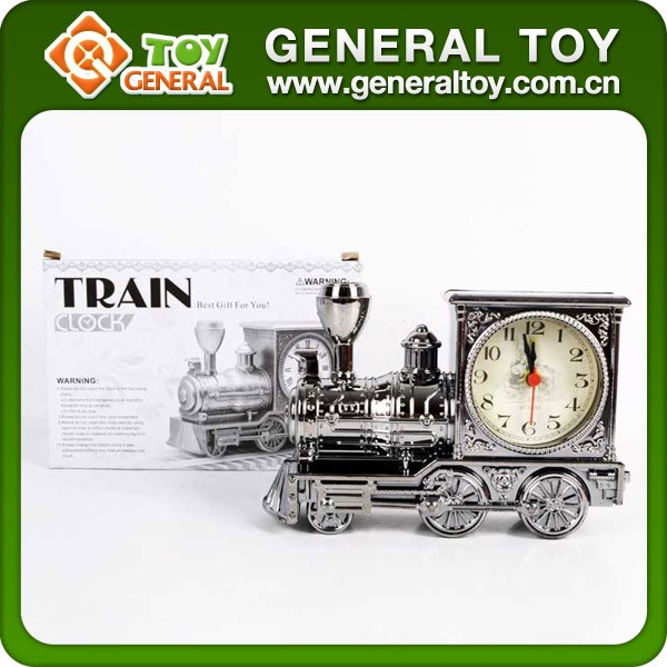 18.5*12.5*6cm Fancy Train Model Alarm Clock Train Clock