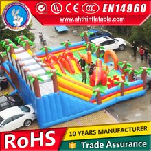 indoor or outdoor giant inflatable amusement park, playground for kids
