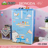 4 layer plastic drawer storage cabinet baby clothing drawer HD-2394