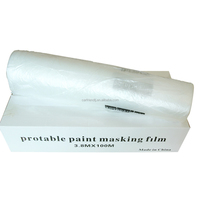 Plastic ADVANCED PAINT MASKING & OVERSPRAY PROTECTION FILM 8.2' x 90'