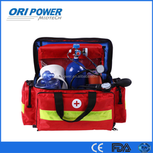 OP manufacture FDA CE ISO approved promotional red big emergency medical first aid kit