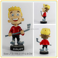 Custom hot japanese young boy figure, young boy anime figure, anime young boy playing golf figure