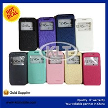 "6 inch leather case wallet flip leather phone case 4"" 5"" with stand case at factory price"