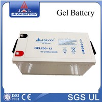 12v 200ah solar gel battery for UPS system