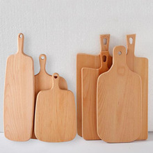 Eco-Friendly Beech wood cutting board Pizza tray Chopping Board for sale