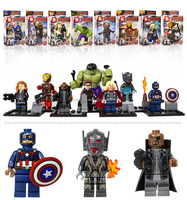 wholesale abs the avenger children game legoo minifigures toys in alibaba China