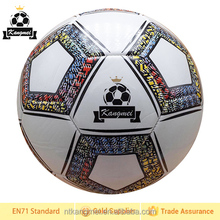 Promotion competitive 1.8mm PVC Football&soccerball 2014 football ball