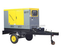 40KW trailer weifang diesel generator set 100% copper & output 400V three phases