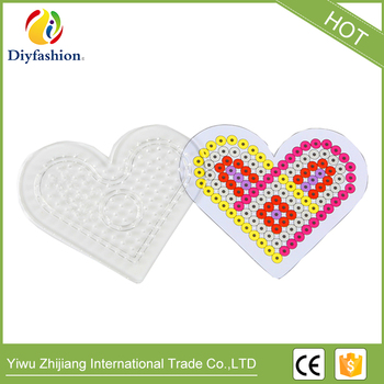midi Beads Pegboards Heart Patterns for 5mm perler beads