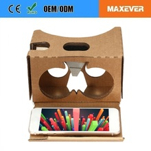 37MM Big Lens Google Cardboard V2 VR Cardboard 3D Glasses