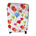 Colorful Printed Travel Luggage ABS PC Hard Shell Luggage Suitcase