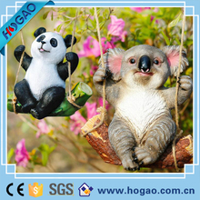 Animal Resin Funny Garden Ornaments Polyresin Miniature Figurines