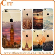 Amazing Designs Painted Soft Skin Case Cover for iphone 6 6s 5 5s Beautiful Natural Scenery capinhas