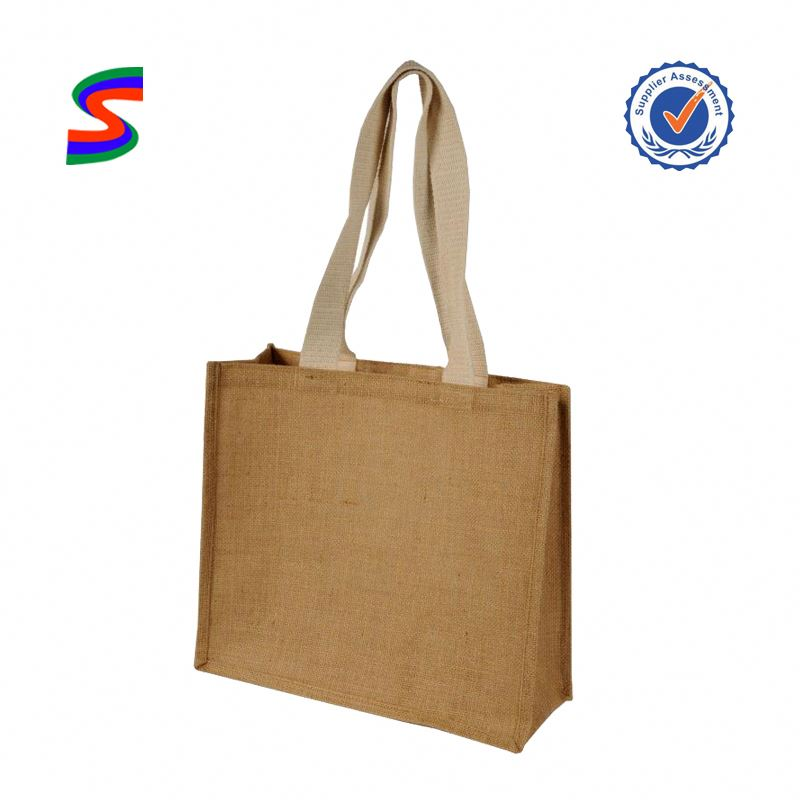 Jute Bags For Wine Bottle Jute Tote Bag Leather Handle