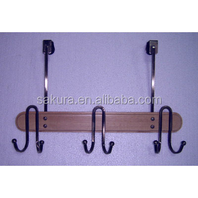 utility hanger hooks wooden hanging wall clothes hooks