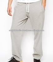 Straight cut sweat pant for mens with drawstring and pockets