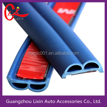 rubber seal soundproof b-shape