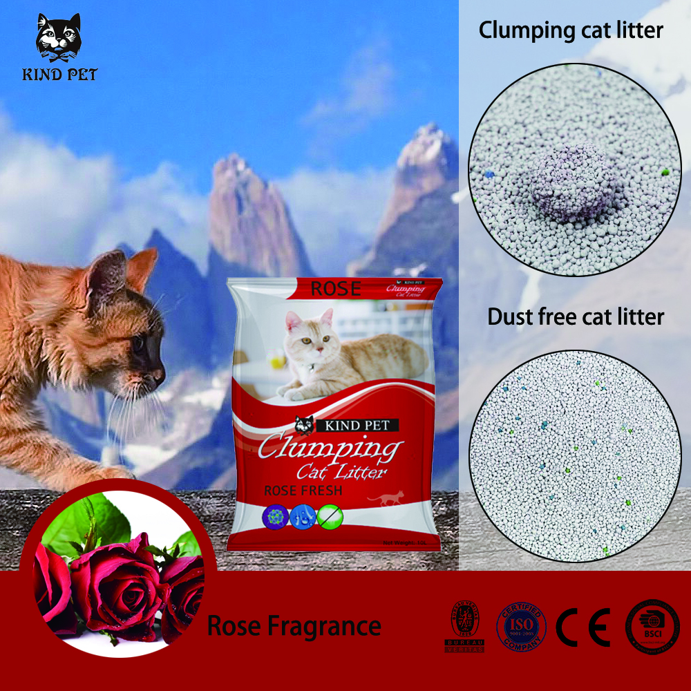 KIND PET Bentonite cat litter factory/pet toilet