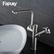 Fapully Dual Handle Wash Basin Mixer Faucet,basin Sink faucet, brass basin Taps