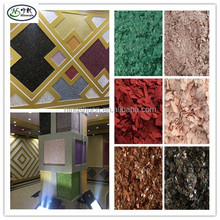 Decorative metallic epoxy floor paint Color flakes/chips for counter tops