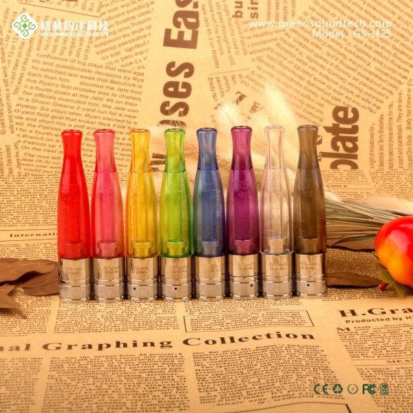 Wholesale ROHS FCC CE ecigarette H2S Clearomizer E cig GS EGO II Mega KIT china water vapor cigarettes