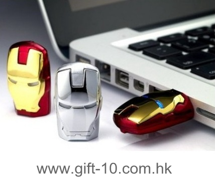 NEW novelty iron man thumb drive