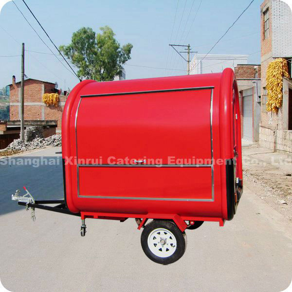 2013 Portable Mobile Electric Tricycle Designed Moving Food Vending Cart XR-FC220 B