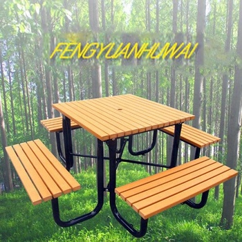 Garden Furniture Outdoor Picnic Table, Wooden Picnic Table And Chair