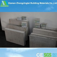 Exterior decoration fast construction New Construction Materials Sound Isolation Vermiculite Insulated Walls Panels