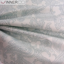 Taiwan fabrics supplier bed sheet 100% cotton knit sateen fabric
