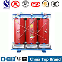 SCB10 Low loss and Low noise 2MVA 2000KVA 35/0.4kv kv dry type transformers