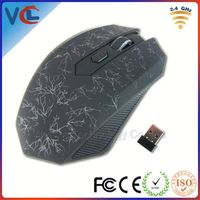 Newest Magic 2.4G Wireless Optical 6D Changeable dpi wireless mouse deals for gamer, High Speed