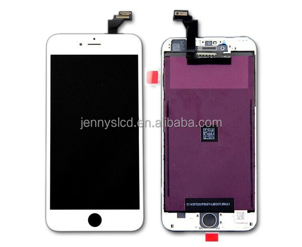 Full OEM original lcd screen for IPhone 6 plus repair lcd display white