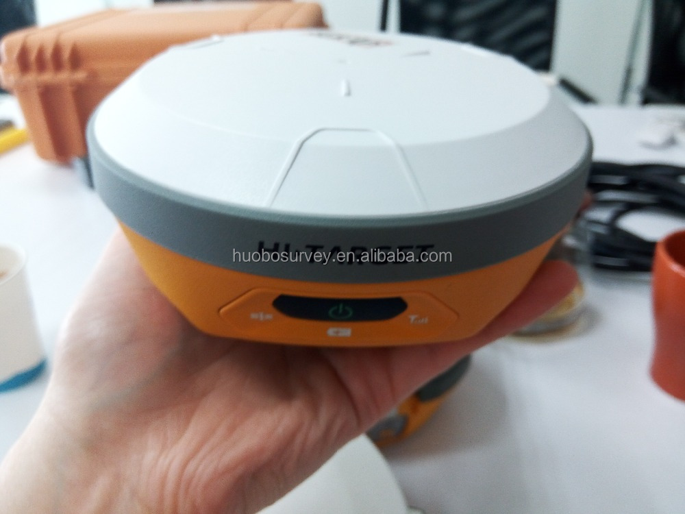 Hi-target V100 GNSS RTK GPS with Trimble BD970 OEM board dual frequency surveying instrument