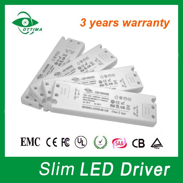 Best Quality Constant Voltage Non-waterproof 12v 350ma LED Driver slim design