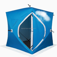 Camping pop up quick open ice cube winter fishing tent